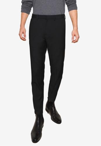 Burton Menswear London 黑色 緊身彈力長褲 F81CEAA6D7355CGS_1