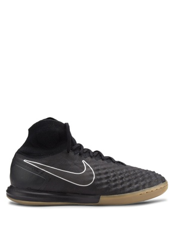 Nike black and brown Men's Nike MagistaX Proximo II (IC) Indoor-Competition Football Boots NI126SH14CINMY_1
