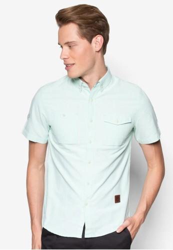 Short S尖沙咀 esprit outletleeve Woven Shirt, 服飾, 襯衫
