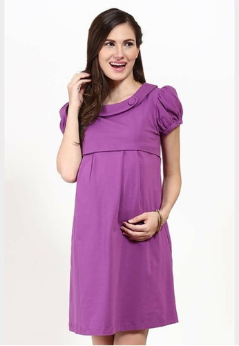 Chantilly purple Maternity/Nursing Rachelle Dress 56001 ECBE7AAEEB77A4GS_1