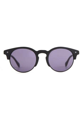 Marshall Eyewear black and grey Henry Matte Black MA266AC83OVWSG_1