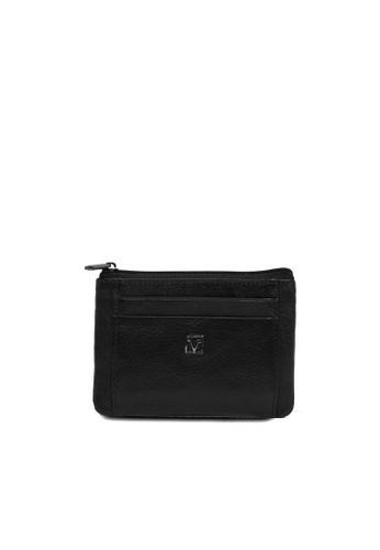 Valentino Rudy black Valentino Rudy Full Leather Coin with Card Holder Pouch A2C73AC7FE4762GS_1