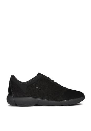 Geox black Nebula Sneakers 5AF7FSH23CD8BFGS_1