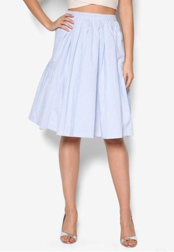 基本esprit旗艦店款及膝短裙, 服飾, 裙子