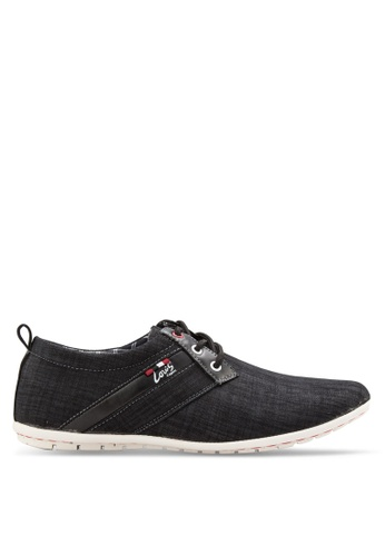 Louis Cuppers black Smart Casual Shoes LO977SH96AYLMY_1