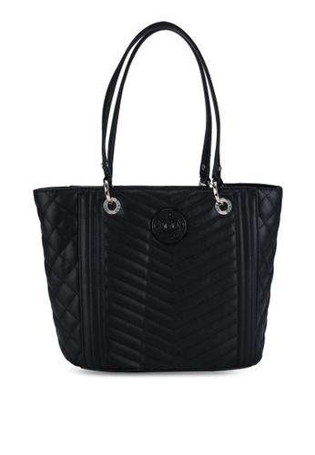 Guess black Noelle Small Elite Tote Bag F33CBAC6F20991GS_1