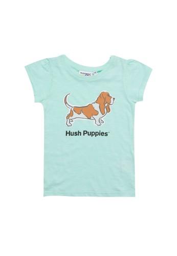 Hush Puppies blue Queensha - Tee FD44BKAC11DA87GS_1