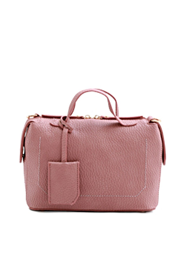 Boxy Allure Charming Handbag