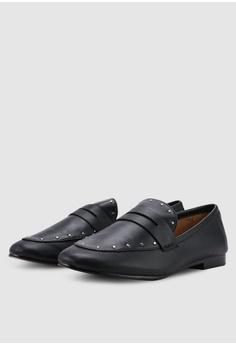 12f4ae6cc2ec 37% OFF Banana Republic Demi Penny Studded Shoes HK  1