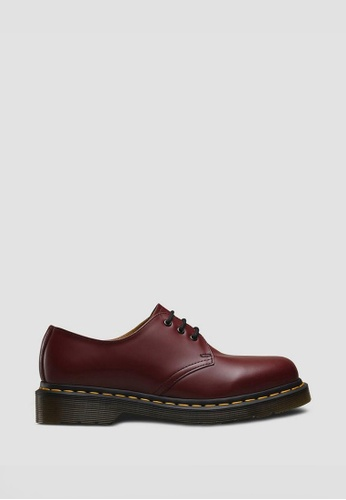 Dr. Martens red Dr Martens Originals Icon 1461 3 Eye Shoe Cherry Red 8715DSH28D1378GS_1