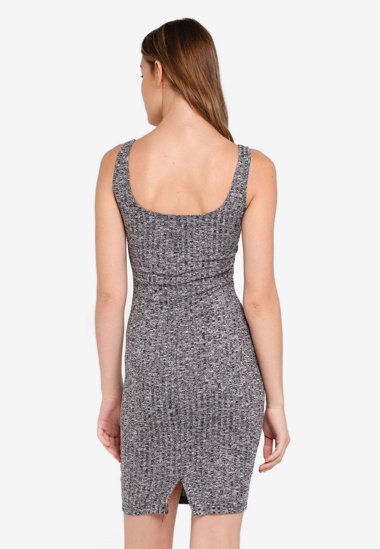 0a5aae842cf3 Kimi Midi Grey Bodycon On Dress Scooped Cotton 8r8wTqU-klausecares.com