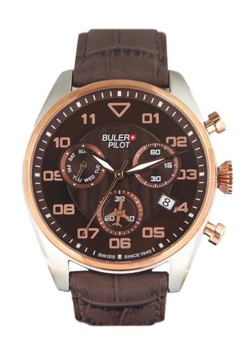 Buler brown Buler Sport Watch - Brown - Gents - 6H BU689AC2VG1RHK_1