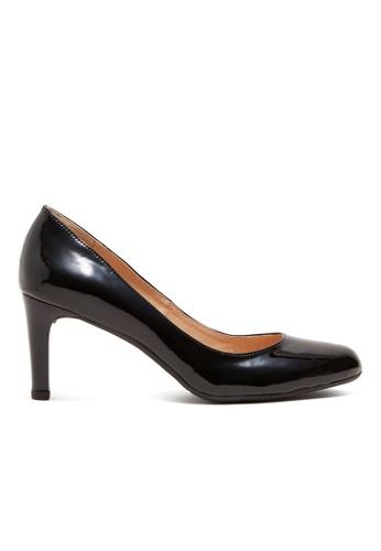 Shu Talk black Simply Classic Patent Leather Heels SH397SH0GFIXSG_1