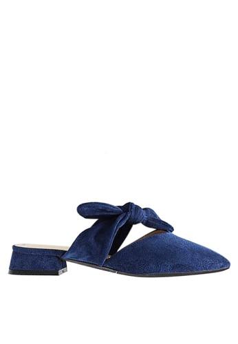 Twenty Eight Shoes Big Bow Mules 903-9 FFD81SHEC5A27BGS_1