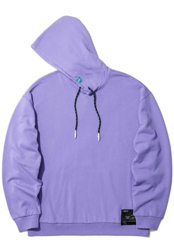 Fivecm purple Logo print hoodie A2159AAA29B112GS_1