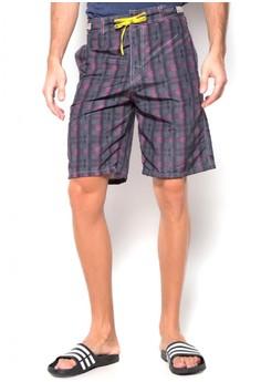 Men's Checkered Summer Board Short