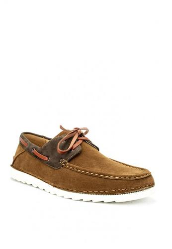 Mario D' boro Runway brown Eugene Casual Shoes AB349SHA69A7FEGS_1