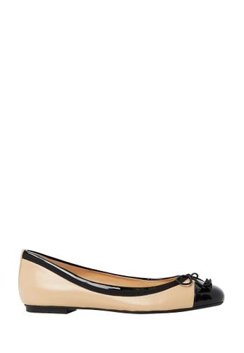 Nina Armando black Juliana Leather Ballet Flat NI342SH0FV3TSG_1