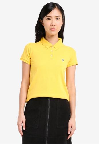 REGATTA yellow Polo Shirt RE699AA0SN1ZMY_1