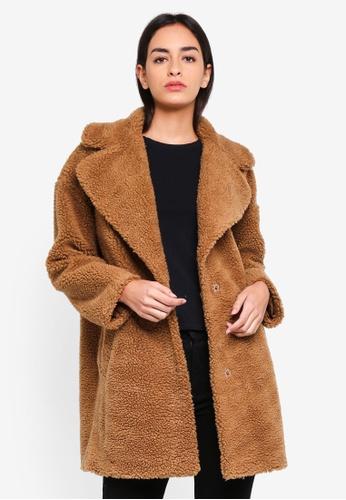 Abercrombie & Fitch brown Gigi Coat CE162AA77C01EBGS_1