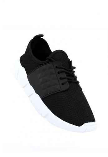 New York Sneakers black Sandy Women's Rubber Shoes 615D9SH87AAD53GS_1