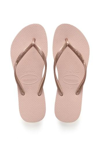 Havaianas pink Havaianas Slim 0076-Ballet Rose  - Sandal Wanita B2D5ESHC95CE0BGS_1