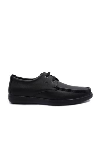 Goldlion black Goldlion Premium Boat Shoes in Black (HSH701TG92C-99) C0553SHFA351BDGS_1
