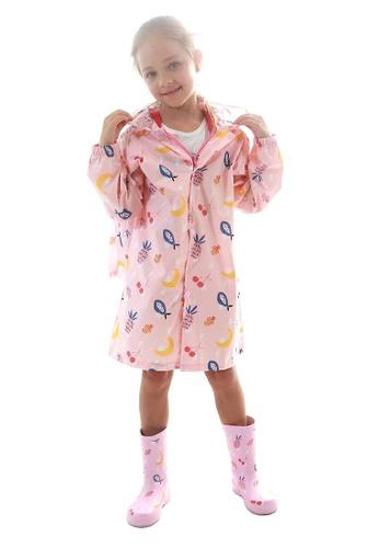 Twenty Eight Shoes pink VANSA Fashion Cartoon Raincoat VCK-R002 12185KA0B5302BGS_1