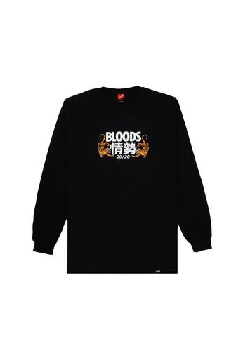 Bloods Industries black T-shirt Bloods T CRAWLOD E66A5AA7849345GS_1