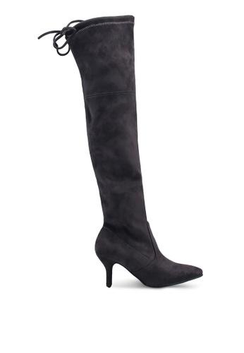8077c682c99 Skinny Over Knee High Heel Long Boots