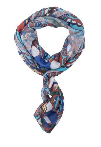 印花絲巾, 飾品配件, 披esprit品牌介绍肩