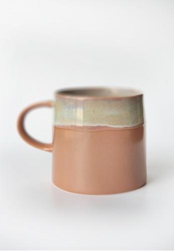 Your Lagom pink Lazy Morning Glazed Ceramic Mug 5C916HL6FE0BDAGS_1