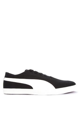Puma black Urban Lace-up Sneakers 92DD0SHD04F13CGS_1