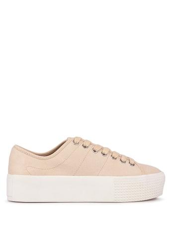 Betts pink Weekend Flatform Sneakers E48F5SH9632B6EGS_1