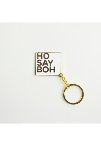 Red Republic Singlish Keychain - Ho Say Boh 94904HL1CBF8C2GS_1