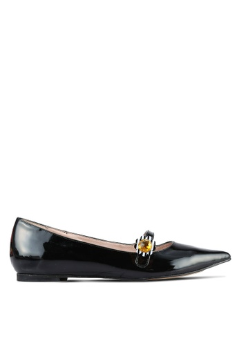House of Avenues black Pointy Flats HO685SH0RRAQMY_1
