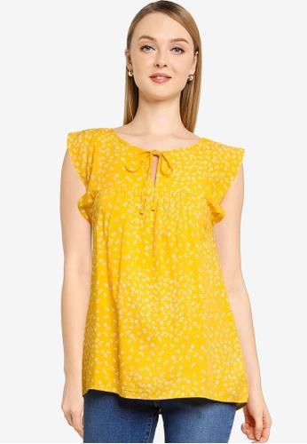 GAP 黃色 領帶 前上衣 6794CAAE5AB2D5GS_1