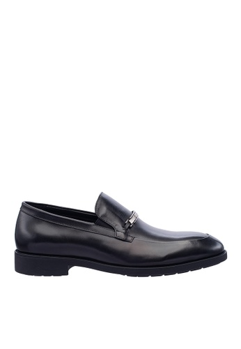 Hush Puppies black Hush Puppies Men's Fontana Slip On Dress Shoe - Black 8E963SH0D3E179GS_1