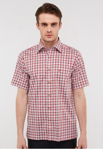 Tootal red Short Shirt  477001 RE 0D5D3AA6C78A9AGS_1