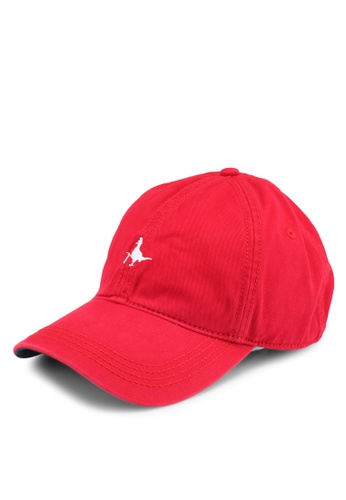 Jack Wills red Enfield Cap ED22BAC46DBD47GS_1