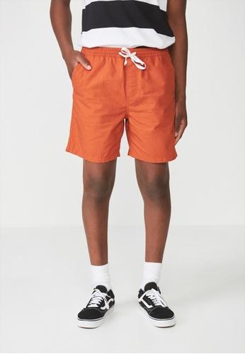 Cotton On orange Easy Short AC931AA437962CGS_1