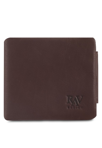 RAV Design brown Leather Wallet 4D865AC3C04CAAGS_1