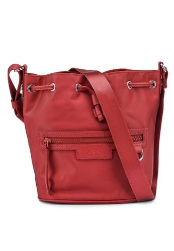 LONGCHAMP red Le Pliage Neo Shoulder Bag (zt) E2A2DAC9C88F9AGS_1