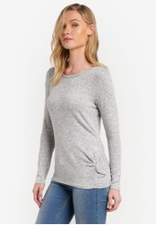 Esprit grey Long Sleeve T-Shirt ES374AA0RNTZMY_1