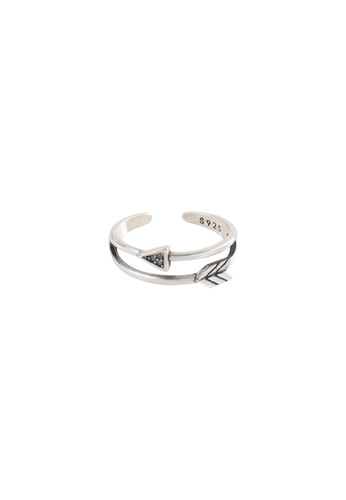 A-Excellence silver Premium S925 Sliver Geometric Ring AA102AC73DEAC0GS_1