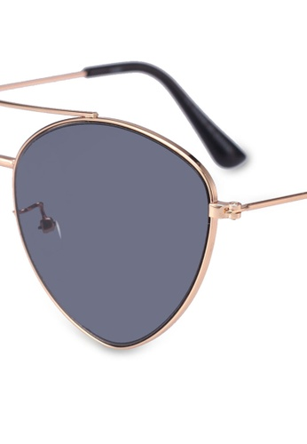 14a97dec0c1 Shop Rubi Olivia Fashion Aviator Sunglasses Online on ZALORA Philippines
