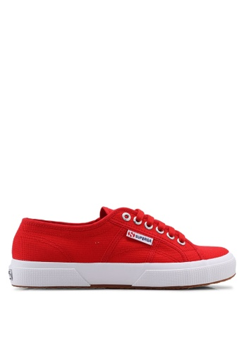 Superga red and multi Cotu Classic Sneakers 1F240SH4B08DEAGS_1