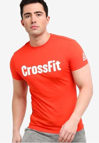 6e75ff30975e Reebok red Training Top CrossFit FEF Speedwick Tee BB085AABF0B290GS 1