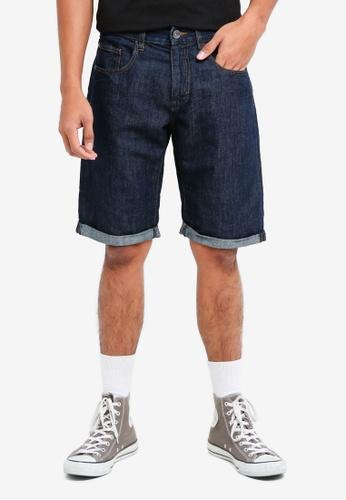 ESPRIT 藍色 Denim Regular Shorts CDB87AAC637AEEGS_1