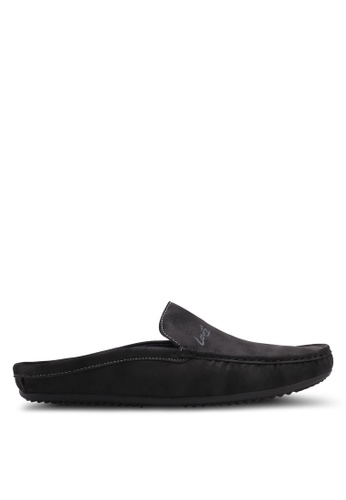 Louis Cuppers black Casual Slip On Loafers B1B51SH95B67BFGS_1